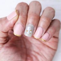 thin-line-french-pink-nail3-200x200 - image
